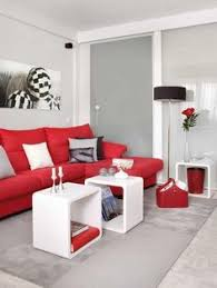 living room with red furniture. achados de decorao blog de decorao aptos pequenos living room with red furniture