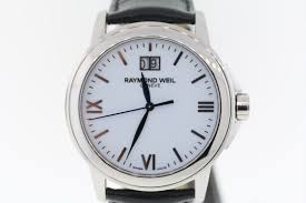 variation of men039s raymond weil 5576 st 00307 tradition white dial black leather watch 371654807702 02fa jpg