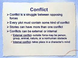narrative essay mrs narasimhalu ppt  conflict conflict is a struggle between opposing forces