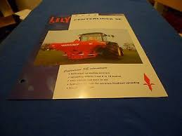 Lely Centerliner Fertiliser Spreader Canopy Operators Manual