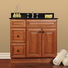 Unfinished Bathroom Vanity Base KH Design - Oak bathroom vanity cabinets