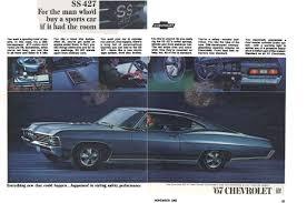 1967 Chevrolet Impala SS 427 Advertisement Photo Picture