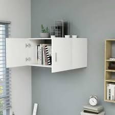 vidaxl wall mounted cabinet white