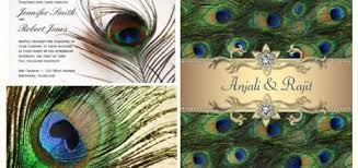 Peacock Invitations Same Sex Wedding Invitations And Ideas Partyinvitecards The