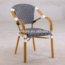 C Cheap French Bamboo Looking Bistro Rattan Chair B186