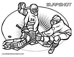 Hockey Coloring Pages For Kids Enjoy Coloring Sports Coloring