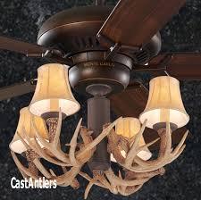60 4 light antler ceiling fan