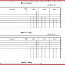 General Ledger Form Photo Ledger Template Printable Saleonlineinfo