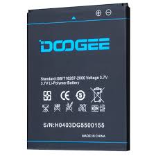 <b>Original Battery for DOOGEE</b> DG550 Smartphone 2600mAh Li ...