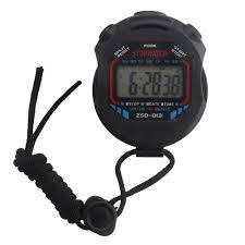 Stopwatches <b>Waterproof Digital LCD</b> Stopwatch Chronograph Timer ...