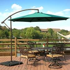 10 ft patio umbrella ft deluxe adjule offset cantilever hanging patio umbrella with cross base and