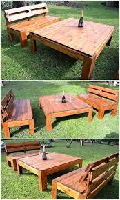 pallet outdoor furniture ideas. Pallet Garden Furniture Idea Outdoor Ideas