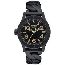 Купить кварцевые <b>часы</b> женские <b>Nixon 38-20</b> All Black Chain в ...