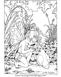 Small Picture free printable fairy coloring pages for adults coloring pages