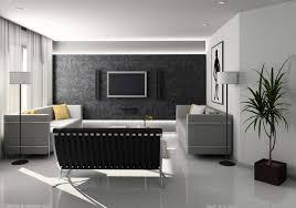 black white grey living room interior decorating ideas