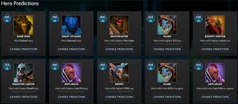 the international 2017 compendium predictions who to pick in your