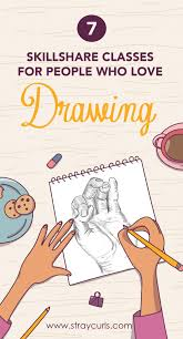 thinking of upping your drawing game these skillshare classes on drawing are perfect for people