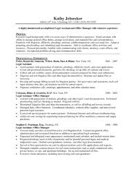 Example Of Resume Cover Letter Best Lawyer Legal Downloads General