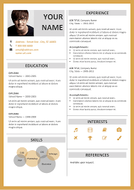 Fitzroy - Modern Border Resume Template