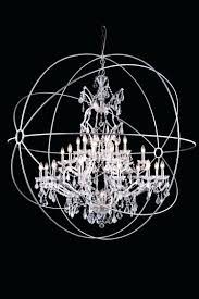 full image for chandelier crystal drop urban classic 25 light 60 polished nickel iron extra large