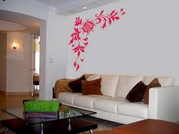 living room wall art for living room ideas pink flower pattern