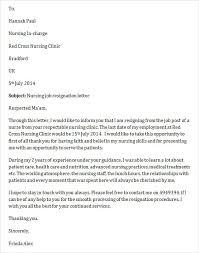 Nurse Resignation Letter Enchanting Rn Resignation Letter Unique Nursing Letter Resignation Gallery