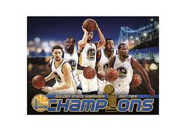 golden state warriors 2017 champions montage mural wall decal for newest nba wall murals gallery
