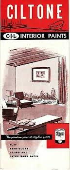 Sears Latex Paints For Interior Surfaces 1980 Brochure