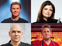 food network chefs. Interesting Chefs Three Iron Chefs And A Level 4 WorldClass Kitchen Inferno Gladiator  Together Alex Guarnaschelli Bobby Flay Michael Symon Curtis Stone  In Food Network B