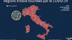 Italy coronavirus update with statistics and graphs: Coronavirus En Italie La Carte Des Regions Touchees