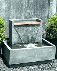 wall mounted fountains outdoor icy stone 2 tier waterfall fountain mount heads wall mount fountains outdoor mounted