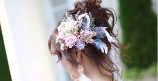 花嫁の愛されヘアはこれで決まりとびっきりかわいい高めお団子の