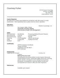 Unit Clerk Cover Letter Office Clerk Cover Letter