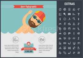 Sports Infographic Template Sports Infographic Template Elements And Icons Vector Illustration