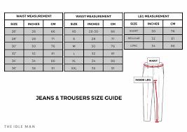 Apt 9 Jeans Size Chart 2019