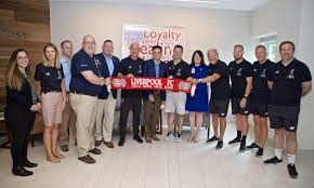 <b>LFC Foundation</b> visits Home Base in Boston - Liverpool FC