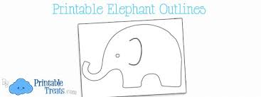 Baby Elephant Template Elephant Baby Shower Free Printables Lovely Baby Elephant Baby