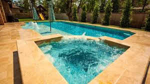 inground pools with waterfalls and hot tubs. Garden Hot Tub And Pool Inground Pools With Waterfalls Tubs