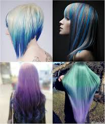 Hairstyle Color blue and violet ombre hair color you can try out in 2013 vpfashion 7712 by stevesalt.us