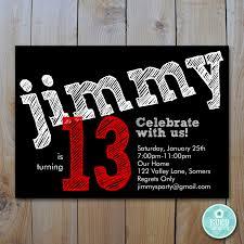 birthday card ideas for 14 year old boy unique boy birthday party invitation templates free image