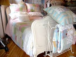 Patchwork quilts from Linen Lace and Patchwork, Essex. uk & french antique bed display Adamdwight.com