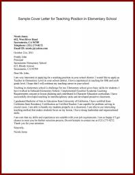 Cover Letters How To Make Cover Letters For Teachers Resume