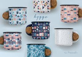 Pattern Collection Inspiration Hygge Surface Pattern Collection On Behance