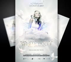 Part Flyer White Party Flyer Template I For Your Awesome Parties
