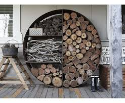 Impressive Best 25 Indoor Firewood Storage Ideas On Pinterest Indoor Within  Wood Holder For Inside Fireplace Modern