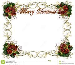 christmas border frame d text royalty stock images image christmas border frame 3d text