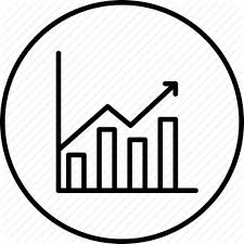 Financial Year Analytics Chart Financial Graph Growth Report Year Icon