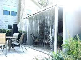 restaurant patio enclosures plastic clear vinyl porch enclosures restaurant patio covers southern red roll up plastic