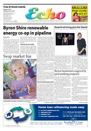 Byron Shire Echo Issue 25.52 07 06 2011 by Echo Publications.
