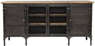 industrial tv stand. Minimalist Industrial Tv Media Stand On Restoration Hardware Tool Chest Console Look 4 Less